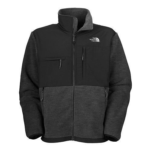 North Face Denali Jackets - The North Face Men's Full Zip Denali Jacket, R Charcoal Grey/Heather, Large