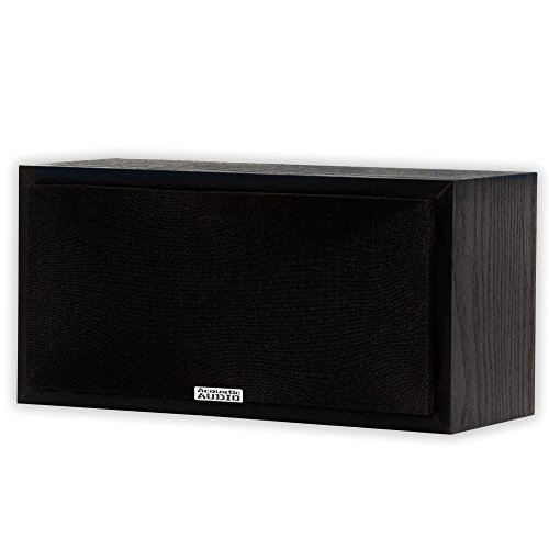 Bass Reflex Center Speaker - Acoustic Audio PSC-32 Center Channel Speaker (Black)