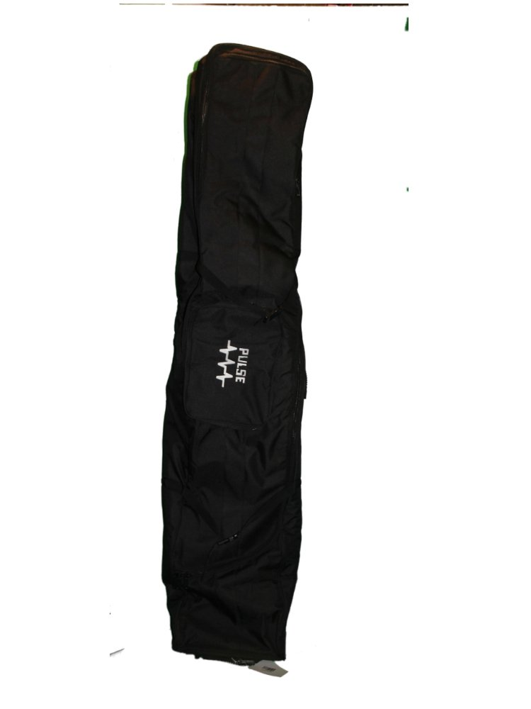 wsdpulse Wheelie Snowboard Bag, Padded with Wheelies Heavy Duty Travel Bag, 165 cm