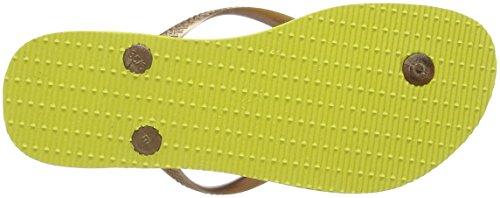 Donna Slim Multicolore Havaianas light Infradito 0013 Tropical Yellow PqTwwf5