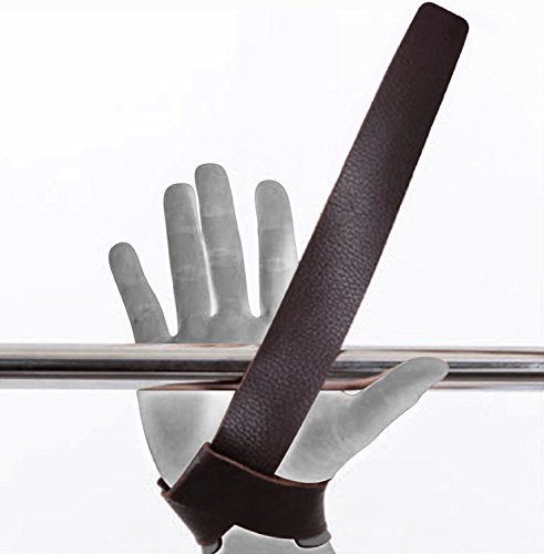 Rdx Leather Weight Lifting Grips Training Gym Straps: RDX Leather Weight Lifting Gym Straps Crossfit Wrist Wraps