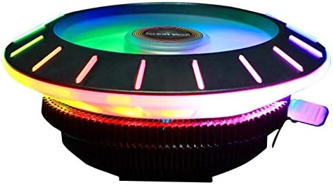 X120 Colorful RGB CPU Cooler with Downdraft Cooling Fan+Heatsink for LGA 115X//775 FM2//FM1//AM3+//AM4//AM2//940//939//754 Motherboard