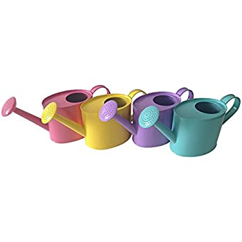 25 gal pastel watering cans assorted 1 piece