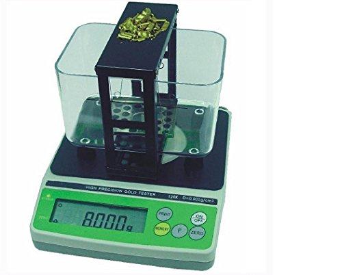 0.001g/cm3 GH-120K Electronic densimeter high presicion gold tester Gold and Silver Testing Machine by JIAWANSHUN