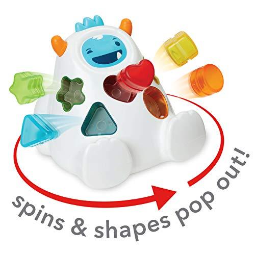 41tjJH7j4mL - Skip Hop Yeti Shape Sorter Explore & More 3-Stage Spinning & Sorting Developmental Learning Toddler Toy