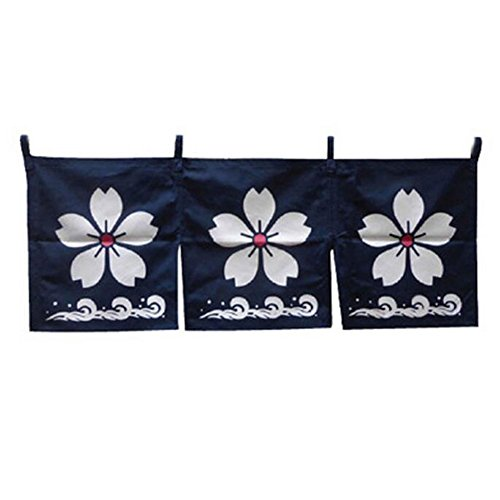 George Jimmy Japanese Style Curtains Door Hallway Restaurant Hanging Curtains - A21