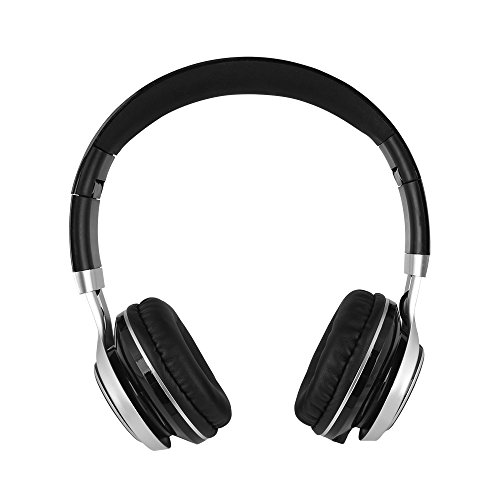 YHhao Over-Ear Headphones, On-Ear Headsets Noise Cancelling Foldable Headphones with Mic and 3.5mm Detachable Cord for iPhone, iPad, Android Smartphones, PC, Computer, Laptop, Mac, Tablet, Black by YHhao (Image #4)