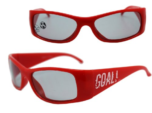 Red Goal Snoopy Sunglasses for Kids - Peanuts Gang - Snoopy Sunglasses With