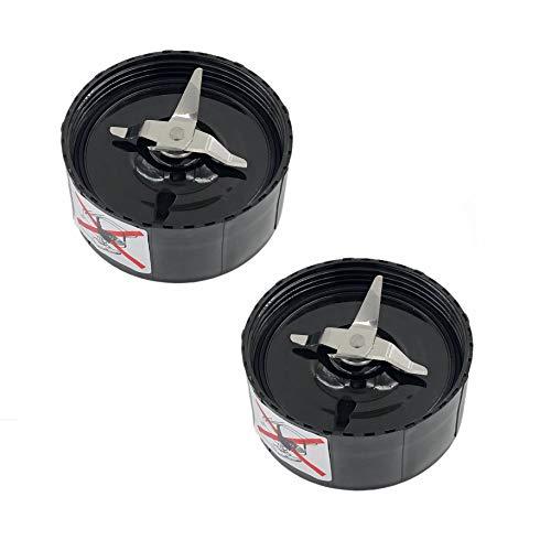 DTOL DTOL-SHUS1512 Juicer Mixer Cross Blade Replacement Parts Compatible for Magic Bullet Blender (Model MB1001) 2 Pack (Bella Blender Parts)
