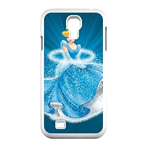 Durable Rubber Cases Samsung Galaxy S4 I9500 Cell Phone Case White Ekffm Cinderella Protection (Cinderella Phone Cases Galaxy S4)