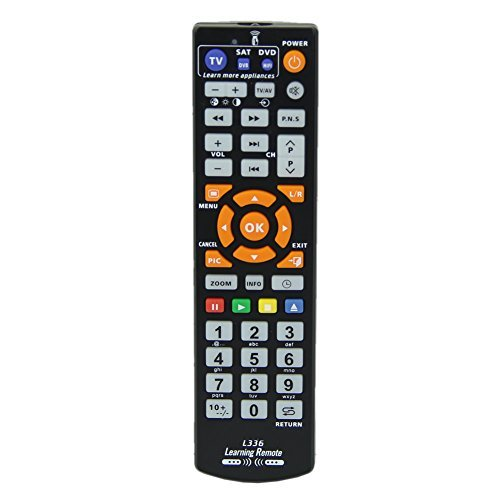 Bonayuanda Universal Smart Remote Control Controller With Learn Function For TV CBL DVD SAT (Universal Remote Controller)