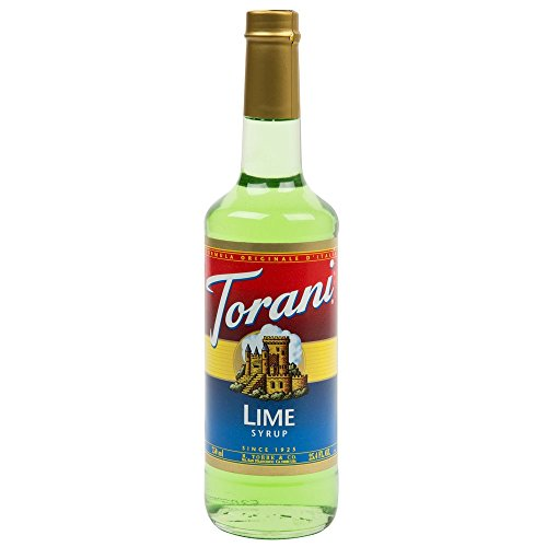 Torani Lime Syrup 750-ML (Pack of ()