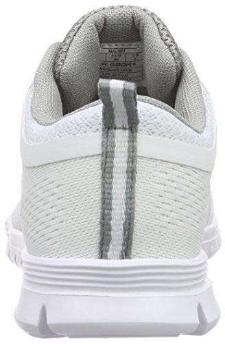 L.A. Gear Malibu - Zapatillas Mujer Blanco - Weiß (Off White 02)