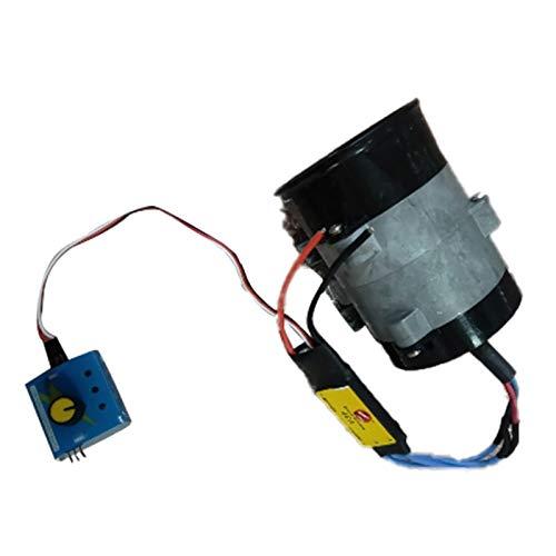 SODIAL Universal Auto Elektrische Turbine Power Turbolader Tan Boost Luft Einlass Ventilator 12V