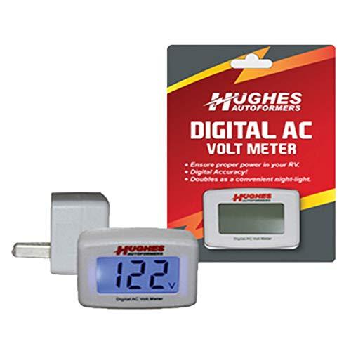 Hughes Autoformers DVM1221 Digital Ac Volt Meter: