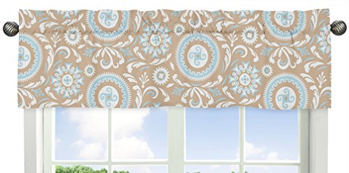 Sweet Jojo Designs 9-Piece Blue and Taupe Hayden Gender Neutral Baby Bedding Girl or Boy Crib Set by Sweet Jojo Designs (Image #2)
