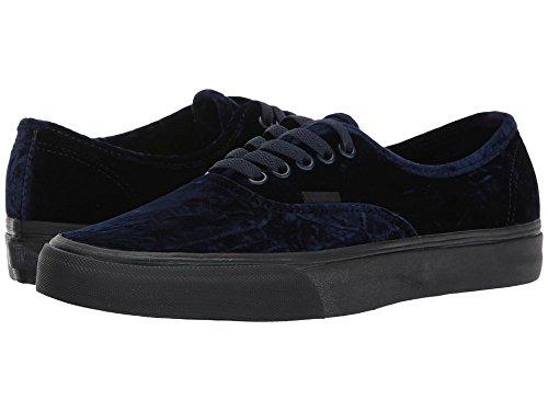 Bestelwagens Authentieke Dames Fluwelen Donkerblauwe Zwarte Zachte Schoenen