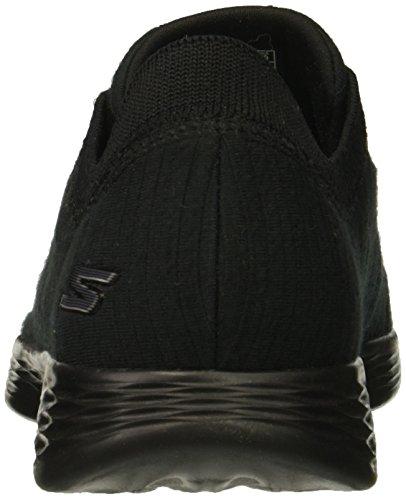 Skechers Courage Negro Zapatillas Cordones sin para You Define Mujer Or6qEwn7OW
