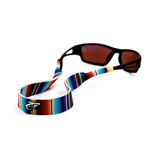 Pilotfish Sunglasses Strap - Floating Neoprene Eyewear Retainer - Sunglass Holder Strap - Custom Design (Serape) by Pilotfish