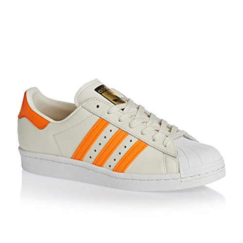 adidas Superstar 80s Calzado off white/eqt orange