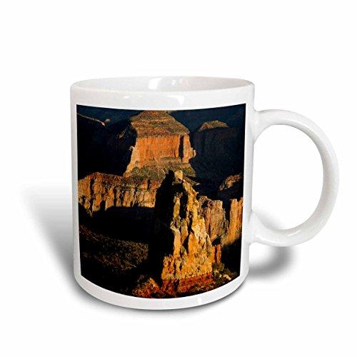 3dRose 142505_1 Mt Hayden, North Rim, Grand Canyon, Arizona Mug, 11 oz, Ceramic ()