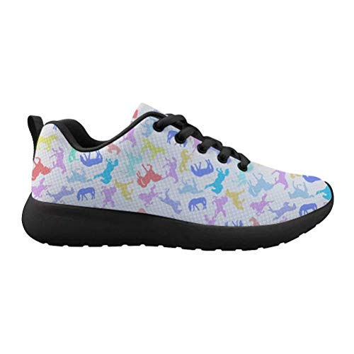 Beauty Collector Lightweight White Cartoon Running Shoes Cat Athletic Shoes Lace Up