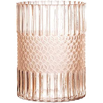 Bloomingville A82041876 Glass Vase, Pink