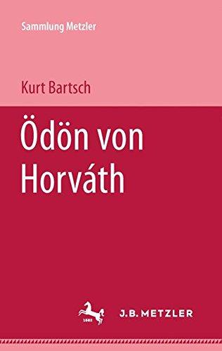 Ödön von Horváth (Sammlung Metzler) (German Edition) pdf epub