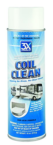 3X:Chemistry 46822 Foaming Coil Cleaner - 18 oz. -