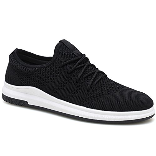 Hommes Sauvage YaNanHome Chaussures Color Corée Chaussures Sport Chaussures Plaque Respirant Black Chaussures Casual de 39 Nouveau Size Chaussures Toile Hommes Toile Black Style Tendance rwqY6z4wnS