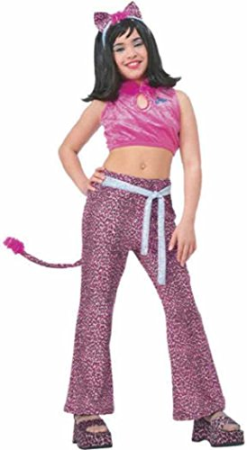 Josie & the Pussy Cats Pink Child Costume Small Child Clothes Size 4-6 -