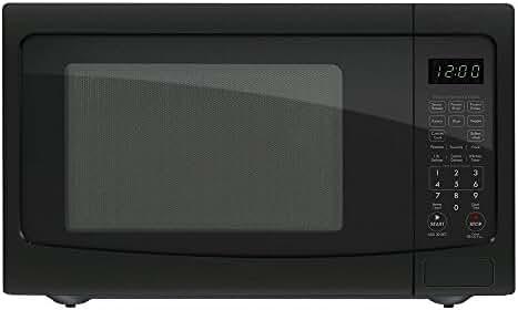 Chef Star CS72129 1.2 cu. ft. 1100 watts Countertop Microwave - Black (Certified Refurbished)