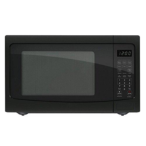 red 1100 watt microwave - 9