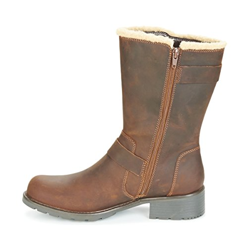 Art Beeswax Womens Clarks Orinoco Boots Brown 0wqxECWB58