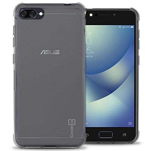 CoverON Slim Fit TPU Rubber FlexGuard Series for Asus ZenFone 4 Max (5.2 ZC520KL) Case, Clear