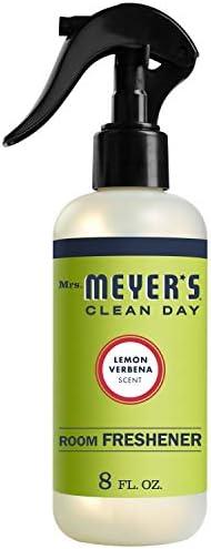 Mrs. Meyer\u2019s Clean Day Room Freshener Lemon Verbena Scent 8 ounce spray bottle