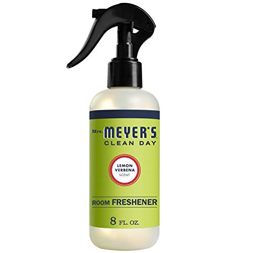 Mrs. Meyer's Clean Day Room Freshener, Lemon Verbena Scent, 8 ounce spray bottle