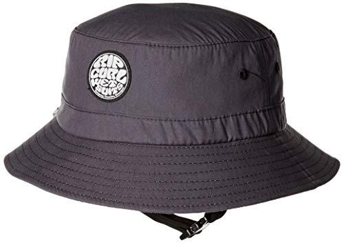 Rip Curl Men's Wetty Surf Hat, Black, 1SZ