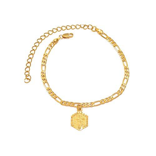 Choose Letter - Anklet Bracelet for Women Fashion Alphabet Jewelrys Standing Girl Chain,Choose Letter B