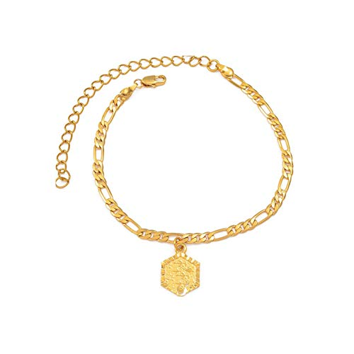 Anklet Bracelet for Women Fashion Alphabet Jewelrys Standing Girl Chain,Choose Letter J