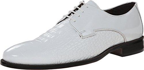 Mens Alligator Shoes (Stacy Adams Men's Florio Oxford, White, 8 M US)