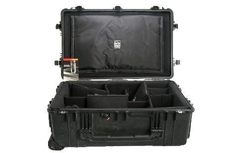 Pelican PC-1650DK - Estuche hermético con Ruedas empotrable y Kit Divisor de Larga Vida útil para cámara: Amazon.es: Industria, empresas y ciencia