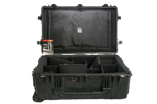 Pelican PC-1650DK Recessed Wheeled Watertight Case with Port