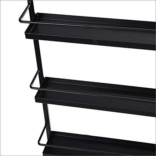 5 Tier Nail Polish Rack, Multi-Purpose Wall Mounted Organizer Display Shelf for 50 Nail Polishes at Home Business Spa Salon by Garain (Image #4)