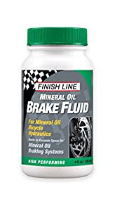 Finish Line - Aceite mineral para frenos (120 ml)