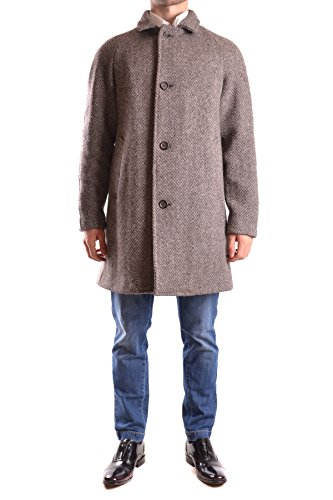 Aspesi Homme MCBI150198O Multicolore Laine Manteau