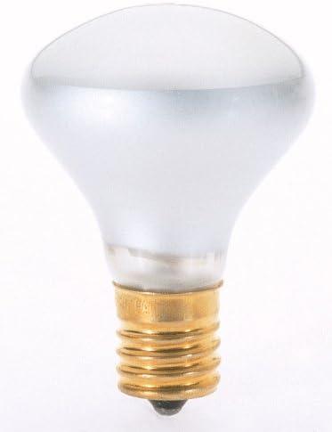 Satco R14 Medium Base Incandescent Floodlight Light Bulb