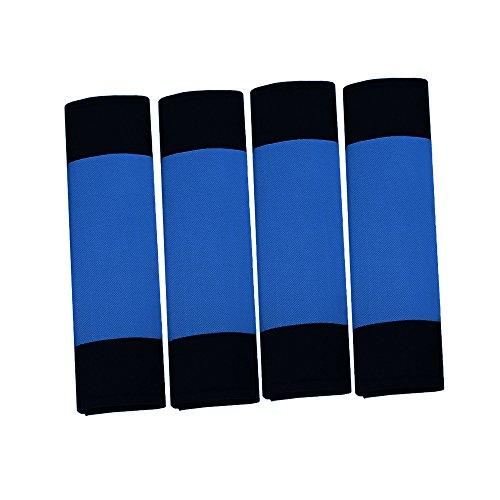 FH Group FH2033 Modernistic Seat Belt Pads Blue Color-Fit Most Car, Truck, SUV, or Van (Best Lacrosse Shoulder Pads 2019)