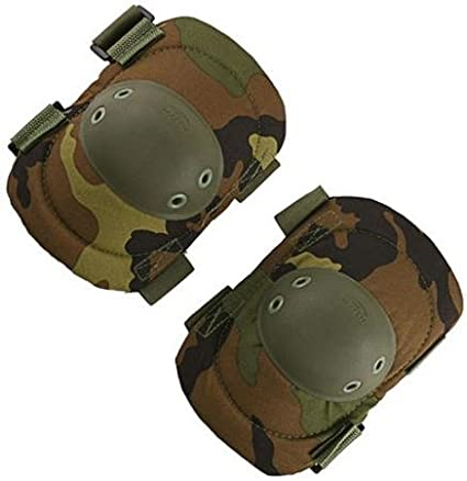 Rothco Proto Men's Paintball Elbow Pads - One Size Fits All - Woodland Camo