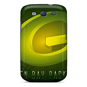 CharlesPoirier Samsung Galaxy S3 Shock Absorption Cell-phone Hard Covers Allow Personal Design Realistic Green Bay Packers Series [Rwl5457kLLb]
